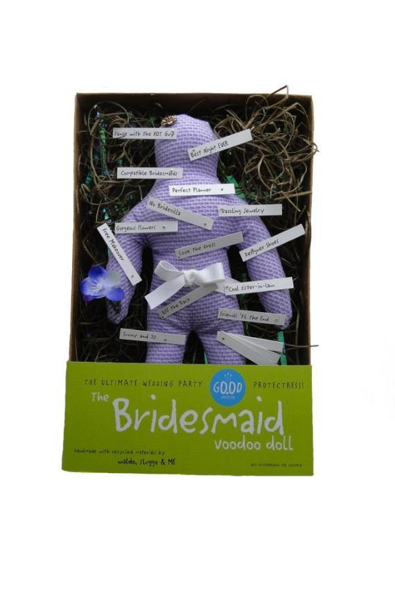 The Bridesmaid Good Luck Good Voodoo Doll