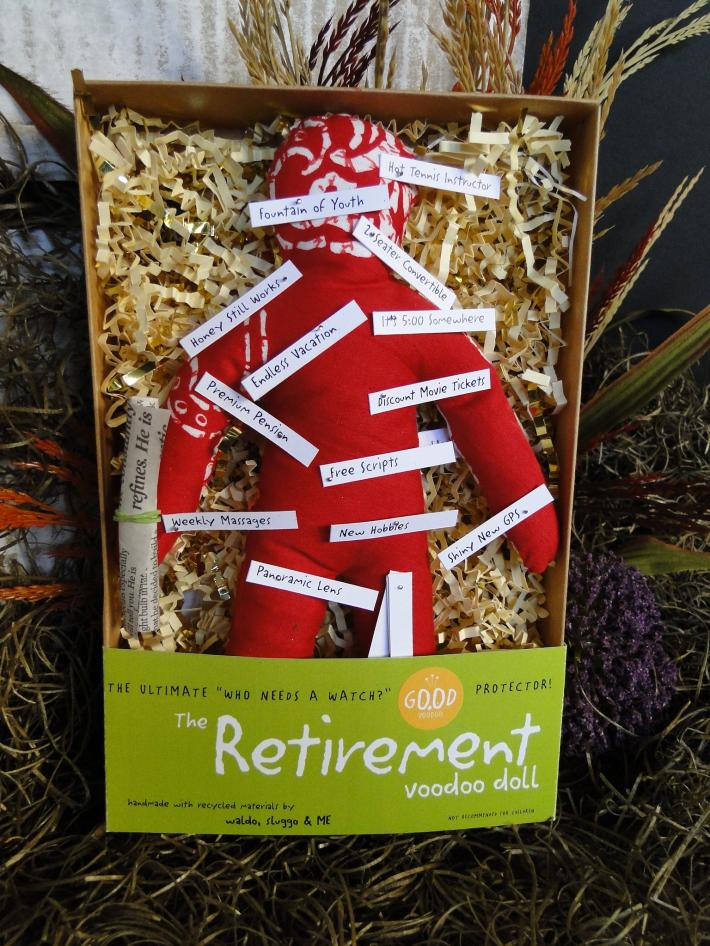 The Retirement Good Luck Voodoo Doll