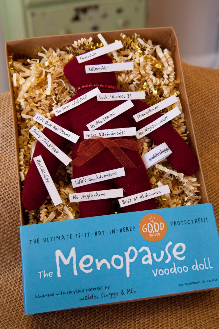 The Menopause Good Luck Good Voodoo Doll