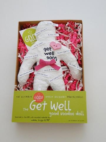 The Get Well Good Luck Good Voodoo Doll