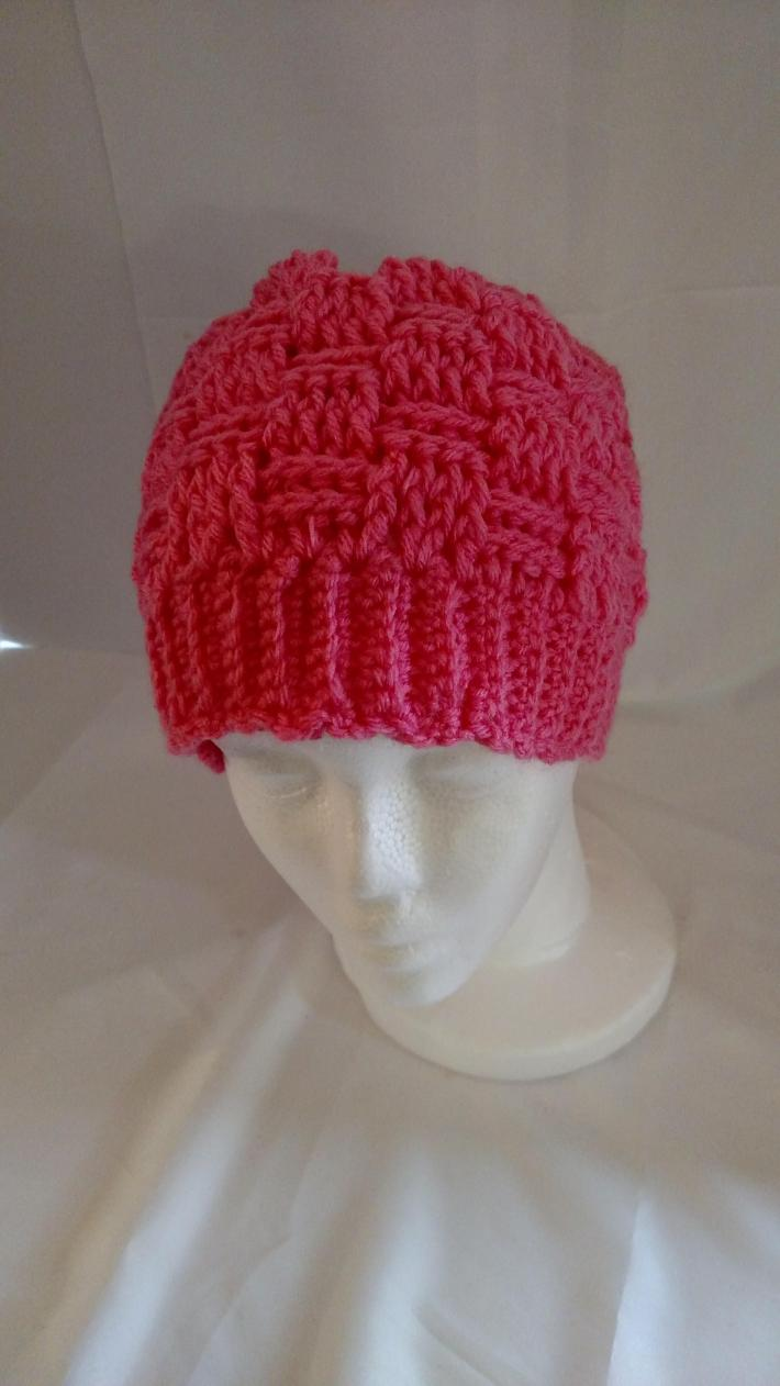 Resistance Pink Sloppy Bun Hat