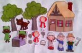 Little Red Riding Hood Felt Board Story Set