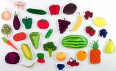 Fruits and Vegetables Felt Board Activity Set