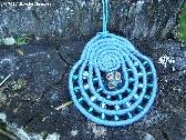 Alaska Basket Coiled Necklace Custom Made