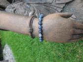 Sodalite and Sterling Silver Bracelet