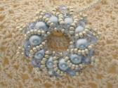 Light Blue Wreath