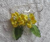 Daffodils of Spring Earrings Harbenger of spring