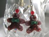 Gingerbread Men Earrings