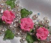 Cassandras Dreams Bracelet   Lots of Swarovski Pearls and Crystals   SRAJD