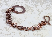 Copper Washer Bracelet