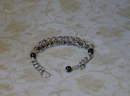 Box and Double Weave Bracelet
