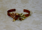 Copper Leaf Bangle