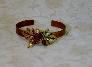 Copper Leaf Bangle
