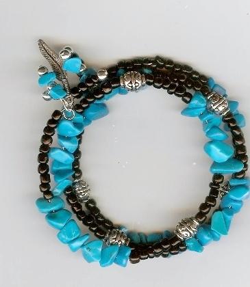 Southwest Memory Wire Bracelet