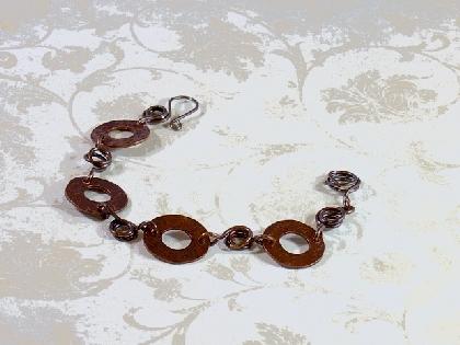 Copper Washer Bracelet