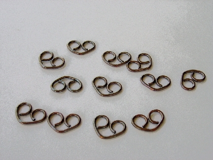 Copper Heart Links
