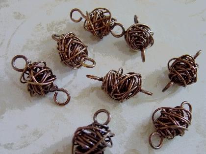 Copper Wire Beads
