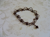 Copper Heart Bracelet