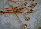 Copper Triangle Headpins