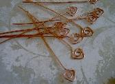 Copper Triangle Headpins