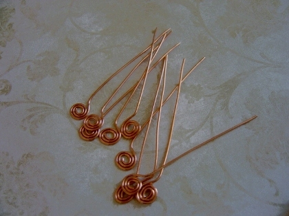 Spiral Head Pins