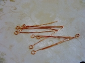 Copper Eyepins