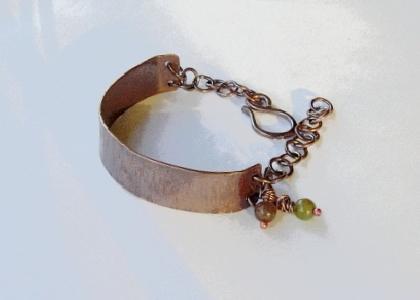 Copper Half Cuff