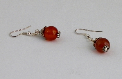 Handcrafted Carnelian Earrings