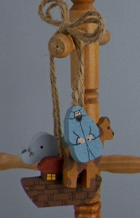 Noah And Ark Hanging Decor