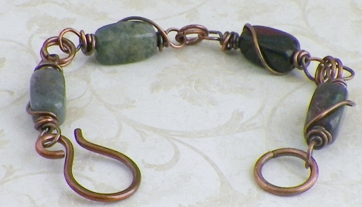 Jasper Nugget Bracelet