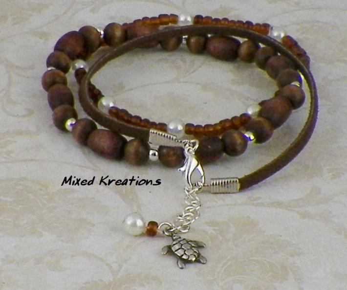 Turtle Charm Anklet