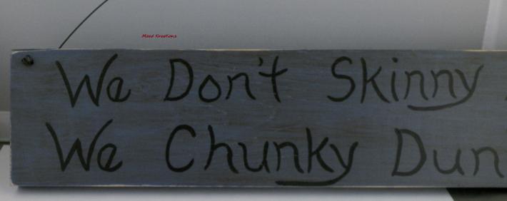 Rustic Skinny Dip Sign