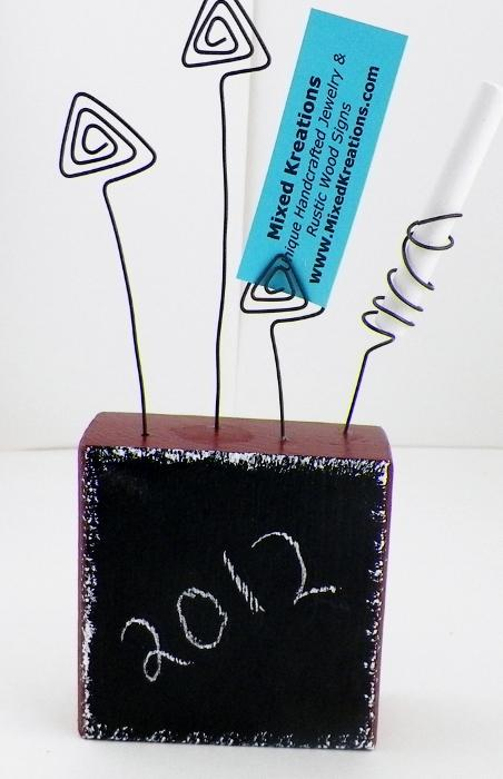 Chalk Board Picture Holder