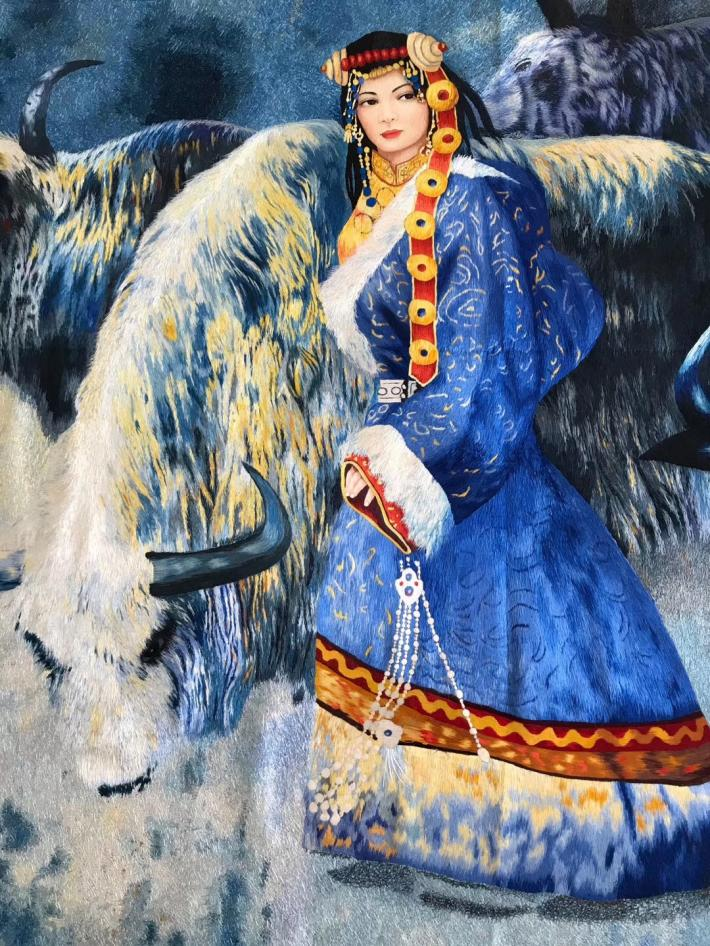 Chinese Suzhou embroidery