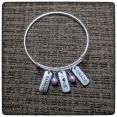 Family Love Grace Adjustable Bangle Bracelet