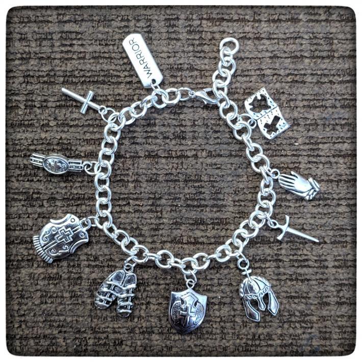 Armor of God Charm Bracelet