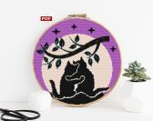 Cross stitch pattern Cats PDF digital download