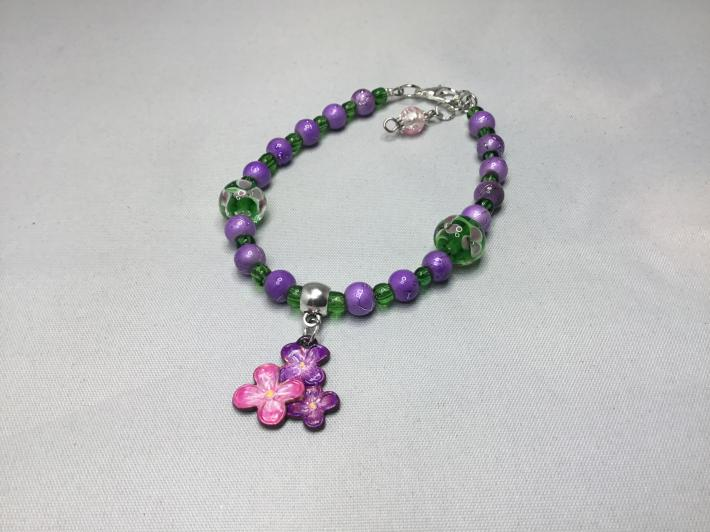 Floral bracelet