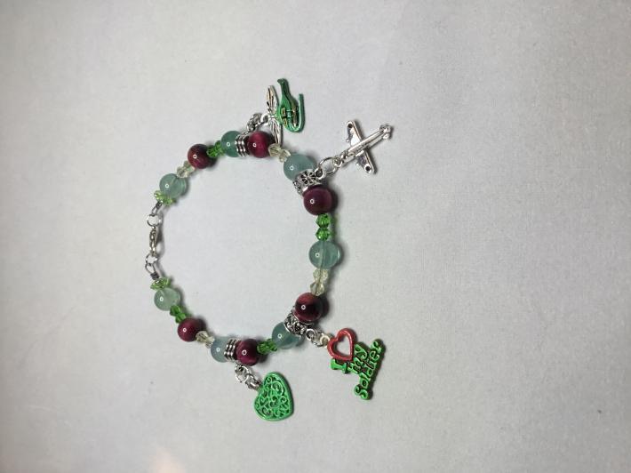 Soldier Charm Bracelet