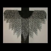 Handcrafted Maille Armour Mantle Galvanized Steel