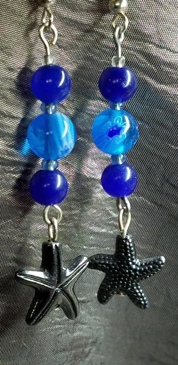 2 Starfish blue
