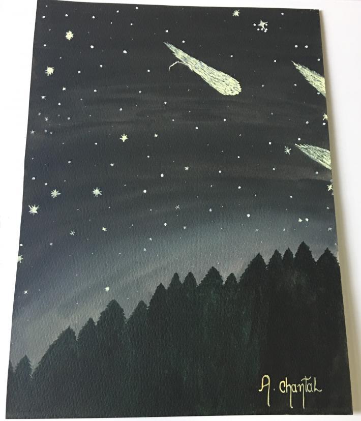 Art by miss Ariel Chantall