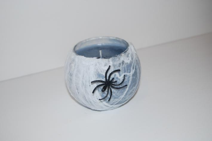 16 ounce soy wax spider web candle