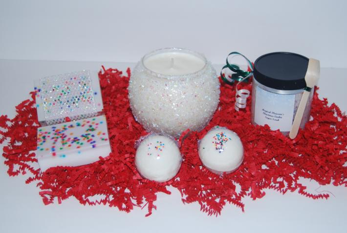 Sugar Cookie Christmas Bath Set