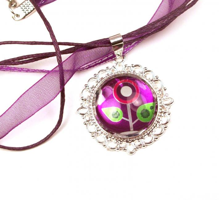 Grape Soda Necklace by Instinctively Indie