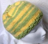 Boyfriend Hat handknit in SuperSoft Wool Blend