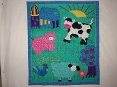 FARM ANIMALS PLAY QUILT