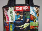 STAR  TREK  Quilted  Tote
