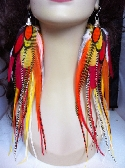 Big and Full Feather Earrings