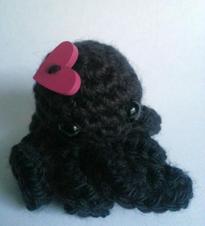 Black Love Octopus Fascinator